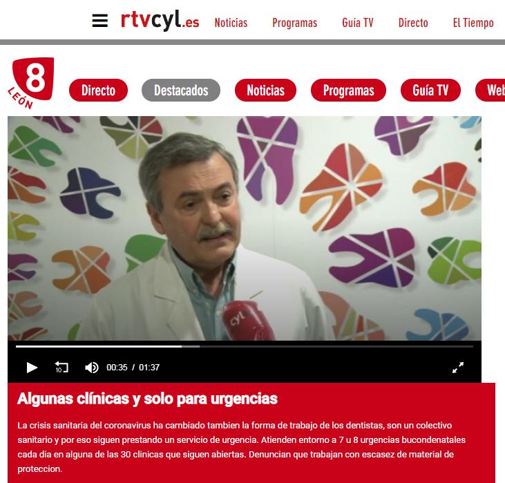 La situación del sector y la atención a urgencias: reportaje en RTVCyL